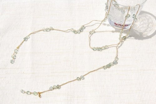 Rarietto of green flow light (will also be the long necklace)