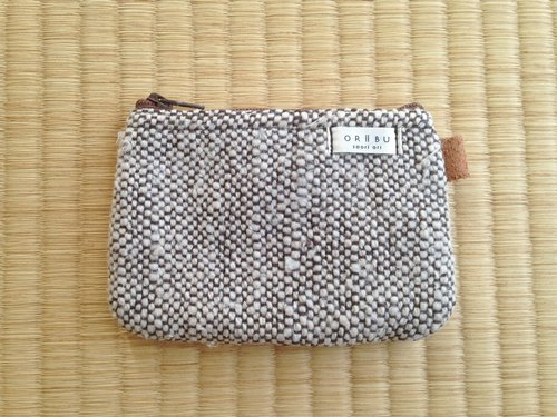 Coin case with gusset with gusset A