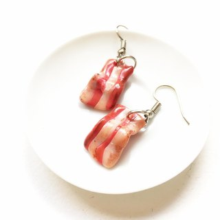 bacon earring