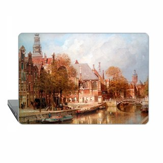 Amsterdam Macbook case Pro 15 touch bar classic art Case Netherland MacBook Air 11 13 Case vintage Macbook 12 Macbook Pro 13 15 Retina river 1764