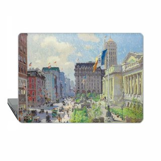 "American art Macbook Pro 13"" 2016 Case MacBook Air 13 Case Cooper Macbook 11 New York Macbook 12 Pro 15 Retina Library Case Hard Plastic 1806"