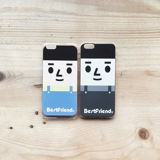 【BestFriend】Grayscale BoyFriend iPhone 6 / 6Plus Case 灰阶系列