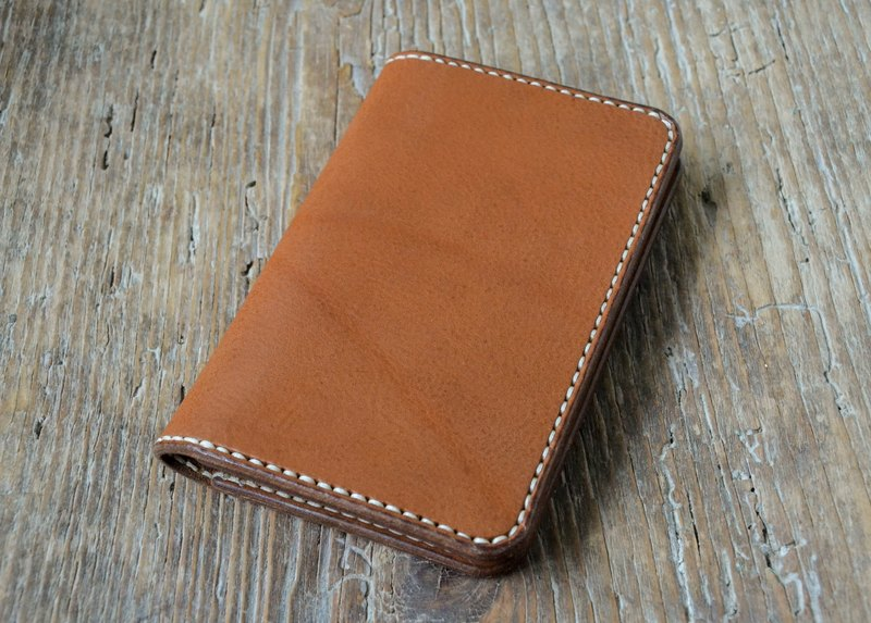 Leather journal cover, passport cover, veg tanned leather moleskine cover, travel wallet. Hand stitched, for men & women