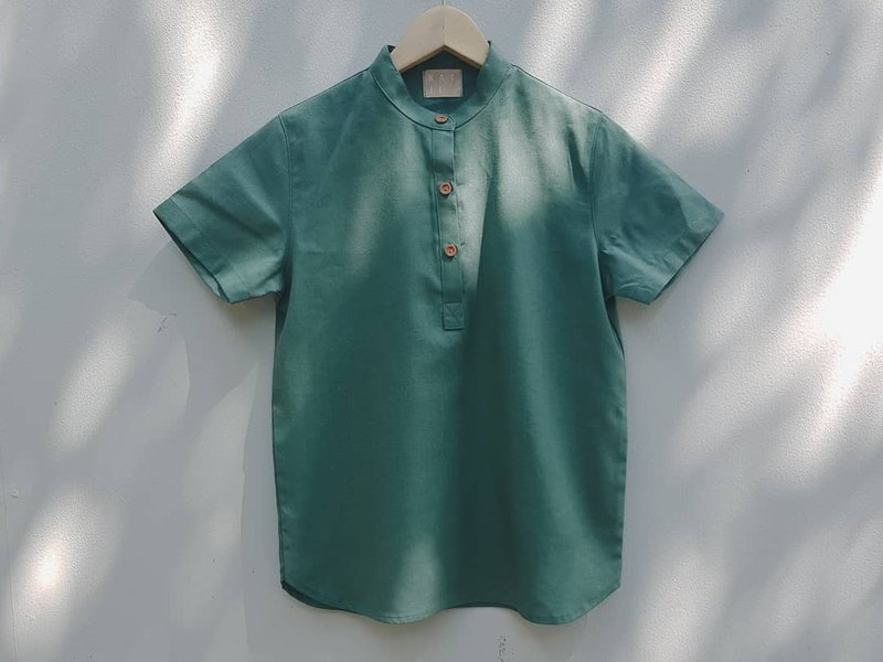 Taru Shorto Shirt : green 绿色