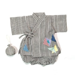 JINBEI   Japanese summer clothes Kimono of the baby