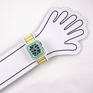 Rabbit Mint Baby 我的第一只布手表 My first Baby Watch (BBW-A004)