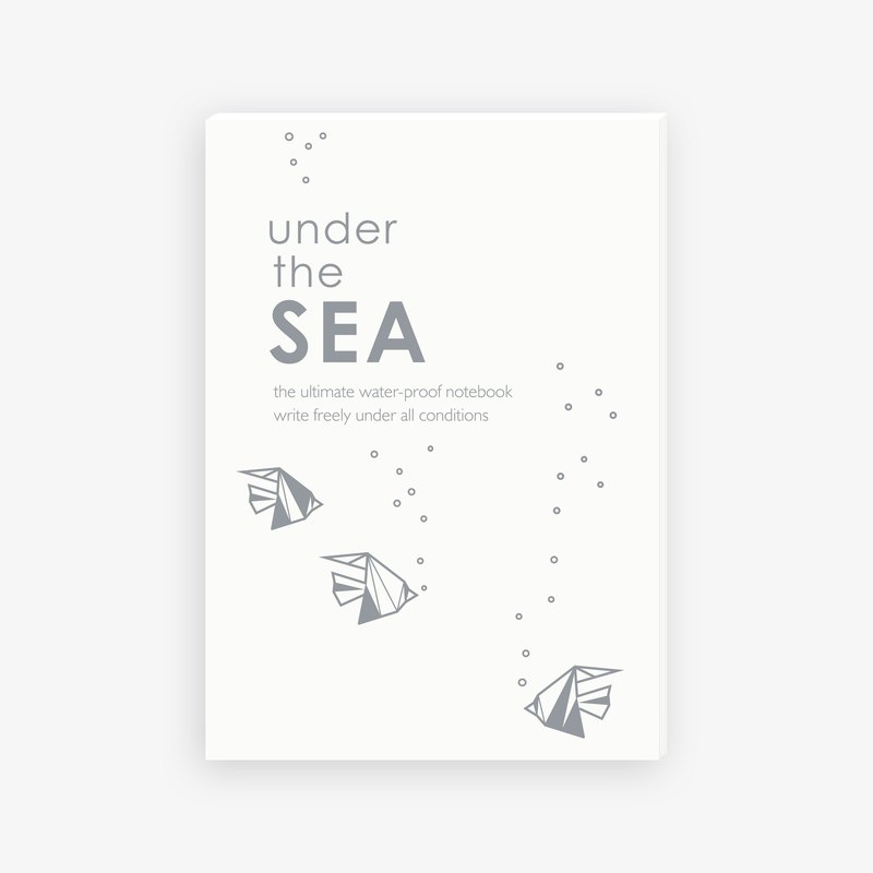 【IWI】SAW note 超能笔记本-海洋IWI-NOTE BOOK-SEA