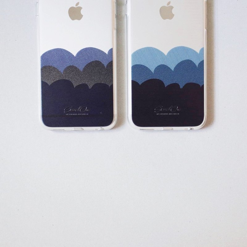 | StandOn | Wave Collection Thread Texture Phonecase - Ocean Blue 海浪车线质感手机壳