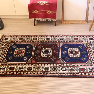 Hand-woven carpets traditional kilim pattern antique design plant dyeing wool rug 165 × 95cm Turkish kilim