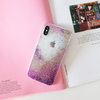 amethyst | case, phone case, glitter case, iphone case, samsung case