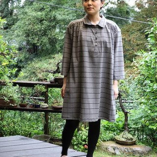 Checked with tunic dress