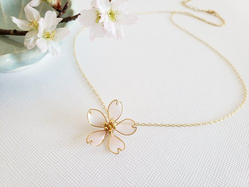 cherry blossom simple pendant&necklace