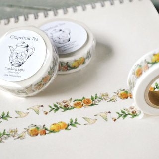 GrapefruitTea (white) Masking tape