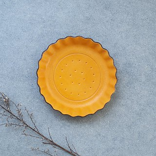 Mustard biscuits) Accessories small leather tray