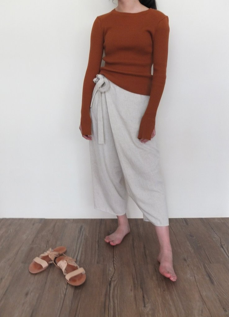 Leni Wrap Trousers (展示品)