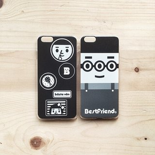 【BestFriend】Grayscale Alien BoyFriend iPhone 6 / 6Plus Case 灰阶系列
