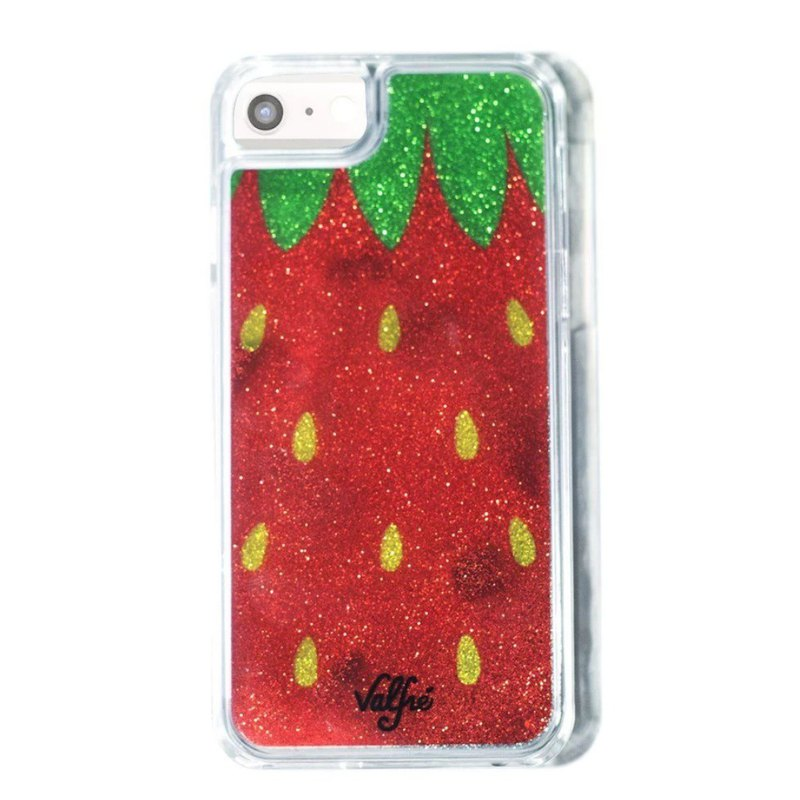 美国 Valfre / Strawberry 草莓 亮粉 iPhone 手机壳