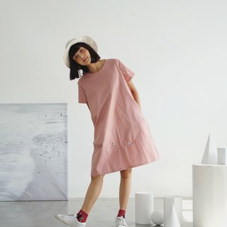 Venus Dress :  Seagull (Pink)