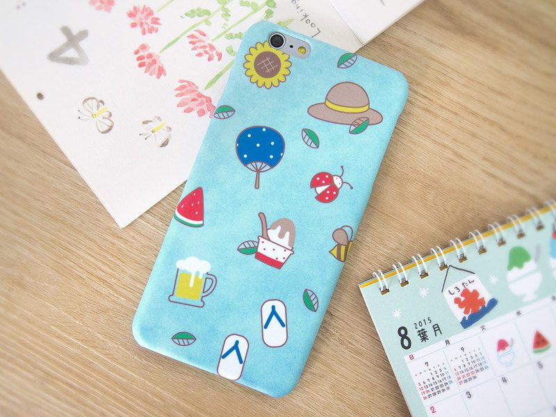 Summer Days in Japan iPhone case / Samsung Galaxy case 手機殼