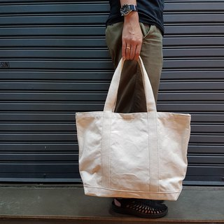 New Simply White Canvas Tote Bag no.04 / Shopping Bag / Market Bag / Tool Bag