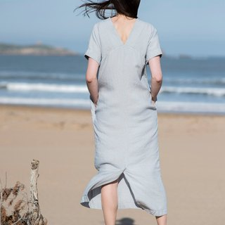 Linen Dress Motumo 16S3