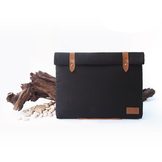 "Roll Top Case 13.4"" (Laptop Sleeve, Laptop Case, Notebook Bag, Macbook, Macbook Pro, Apple, 13"", A4 Folder, Document)"