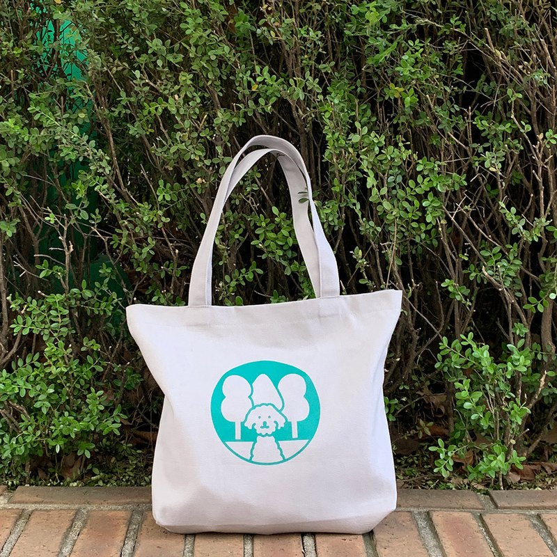 mori's forest canvas bag