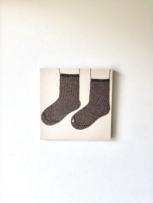 Fabric board socks