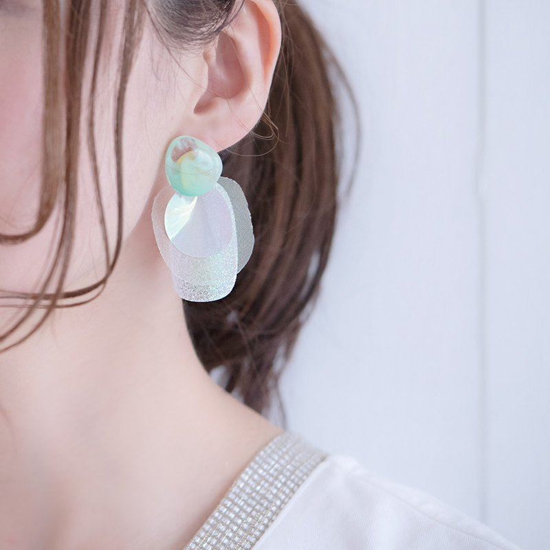 Mystis Park || Earrings || Green