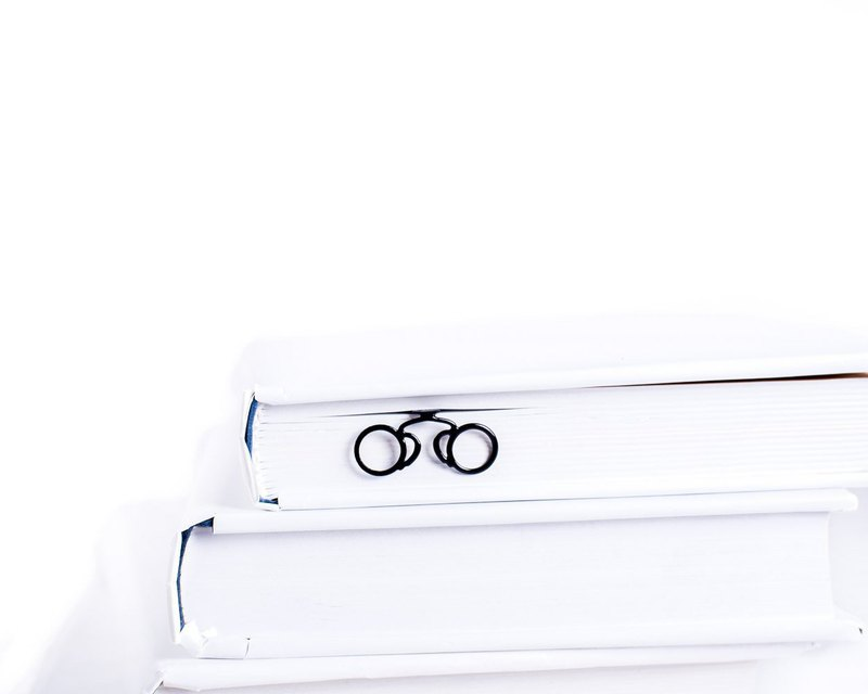 Metal Book Bookmark Pince-nez // Eyeglasses // Stylish gift // Free shipping //