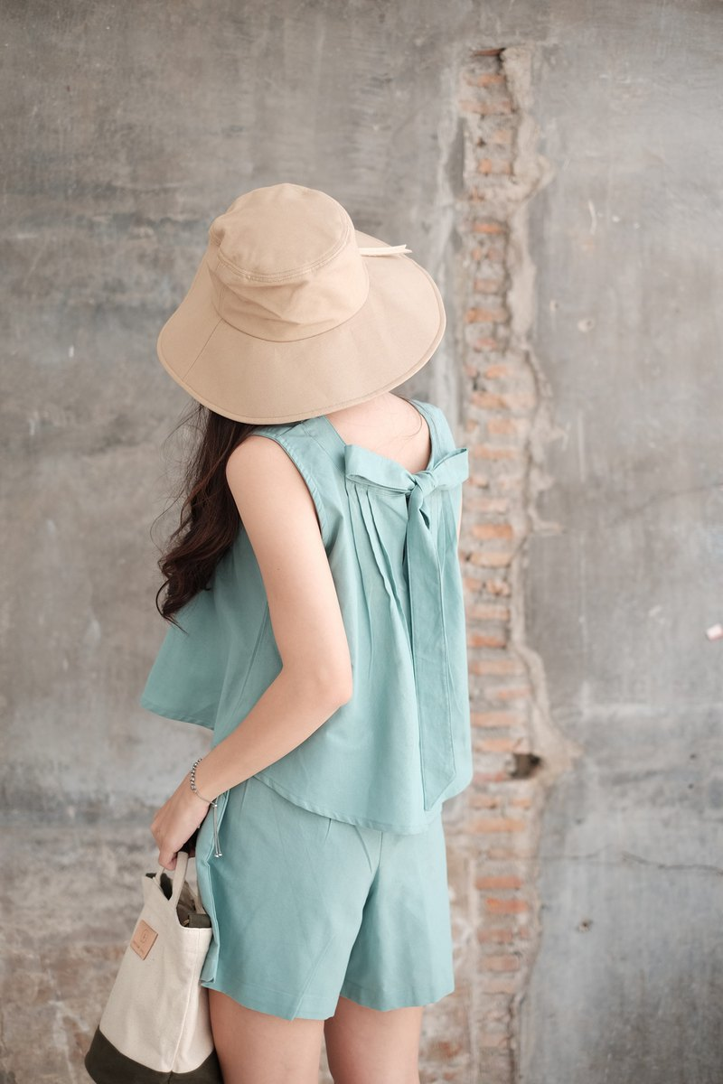 MAFEUNG TOP - Mint