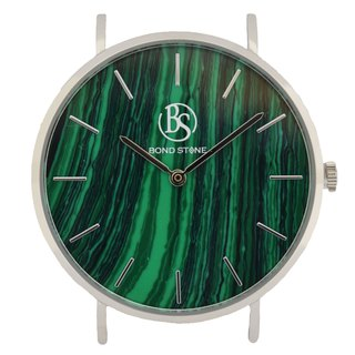 SHINE MALACHITE 40mm Stone Watch