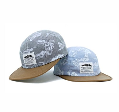 Filter017 Outdoor Pattern 5 Panel Cap户外图形五分割露营