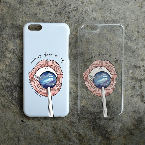 Phone Case 手机壳 - Never Fear To Try