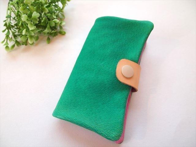 Pig leather soft i phone 6 cover [Leather Smartphone Case] ​​1547007