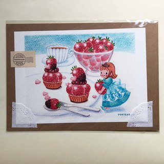 Princess of strawberry country blue poster no.167