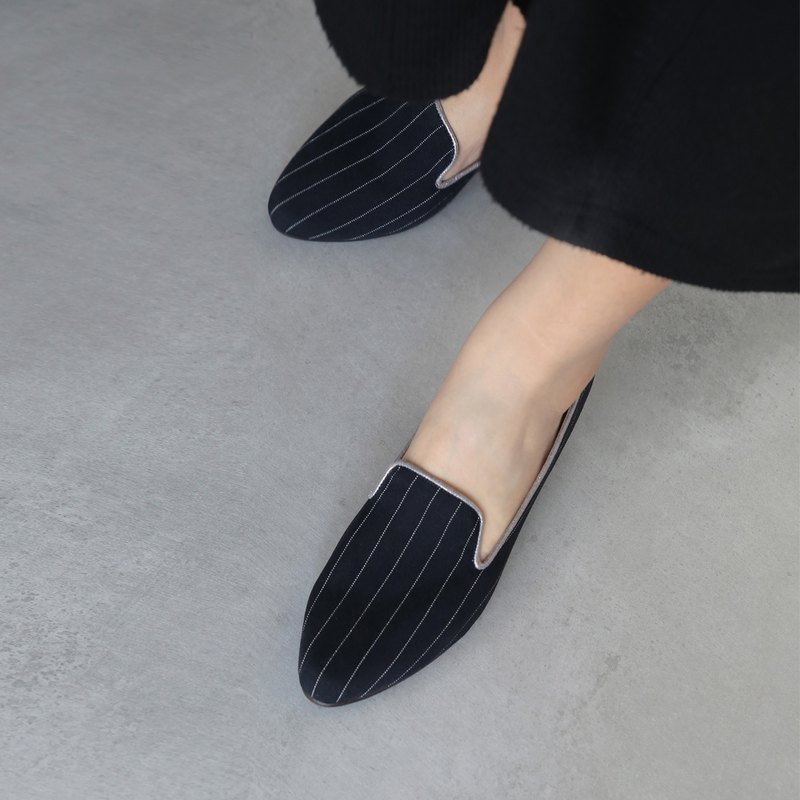WL英伦系-(Nancy)低跟Heeled Loafers