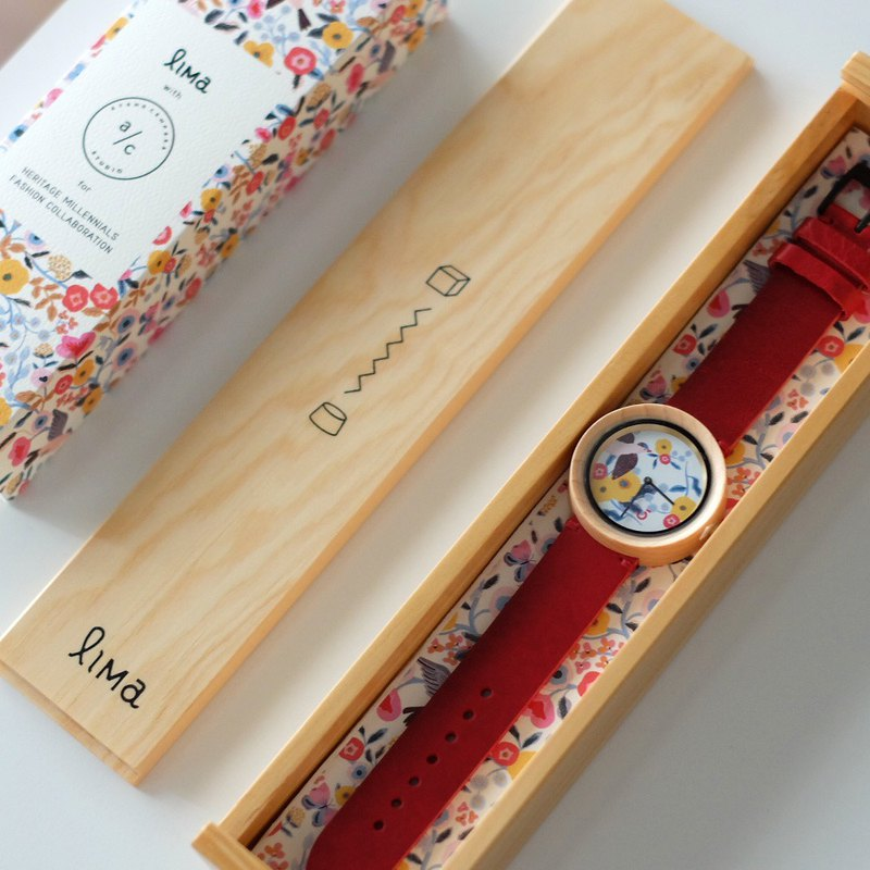 Lima Watch Illustrator Series Edition 02 Red