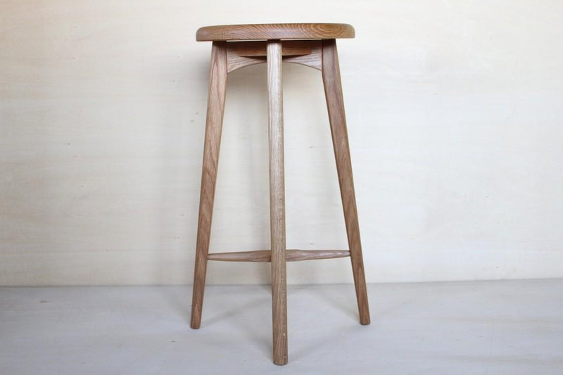 Kitchen stool A · oak and height 55cm