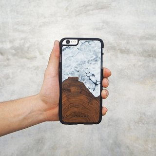 """MARBLE""- wooden case"