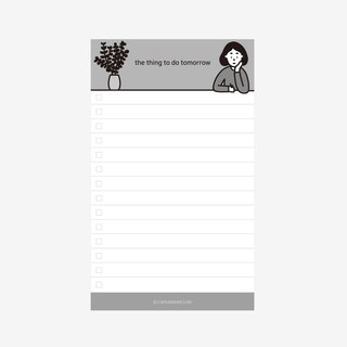 to do list notepads
