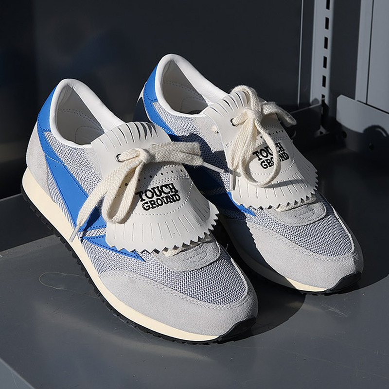 TOUCH GROUND 韩国复古运动鞋  Vintage Running OG GRAY BLUE