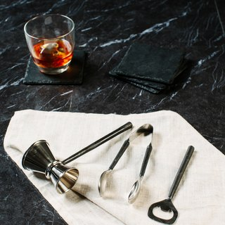 【独家代理】英国The Just Slate Company●调酒组合●Burnished Drinks Accessory Set