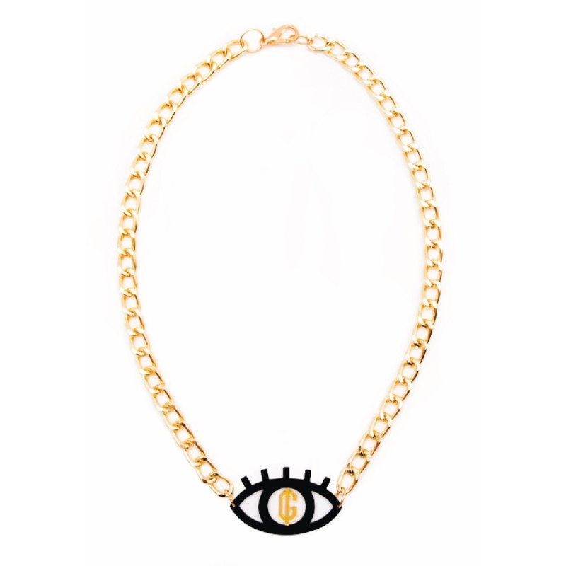 Greed Eye Necklace