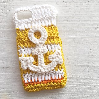 iPhonecase/anchor yellow