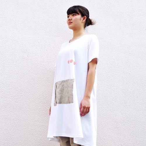 Long T-shirts/apron/kitchen/t-shirts/summer