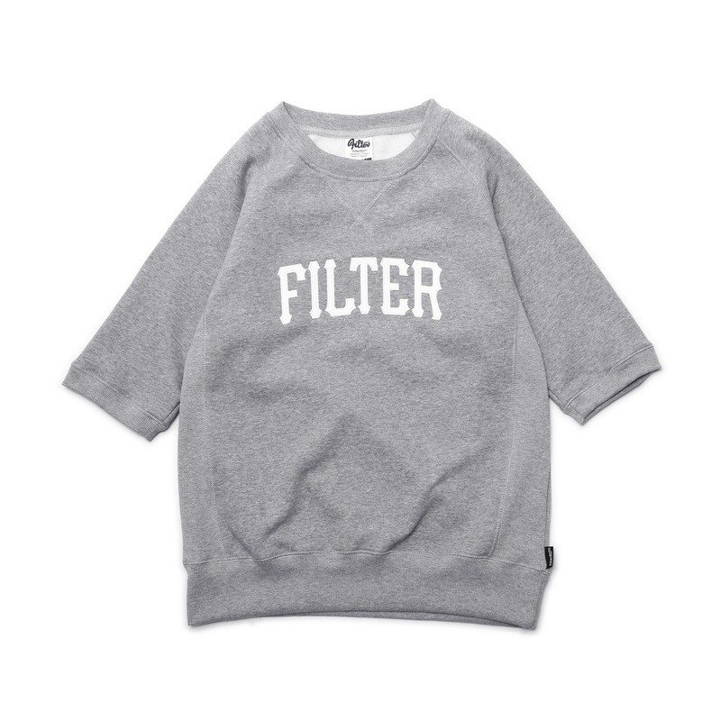 Filter017 Short Sleeve Sweatshirt 五分袖大学T