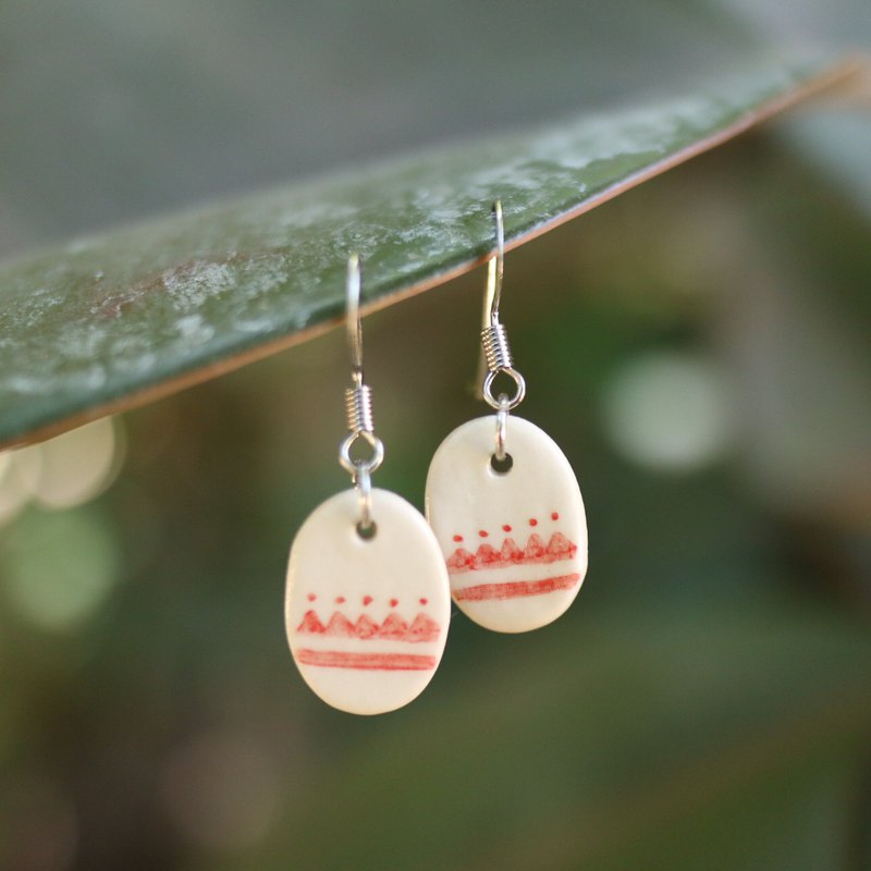 Ceramic earrings EG18-26