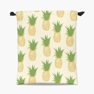 Drawstring Pouch - 束口袋 -  Pineapple Gold