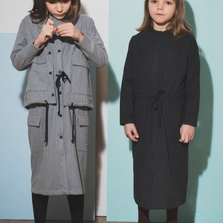 Maxi Dress Dark Grey 4-5Y